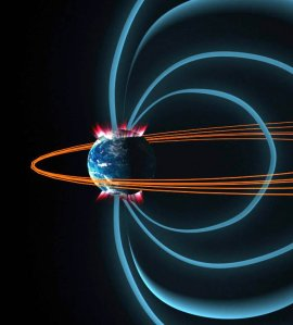 Earth's Weakening Magnetic Field Causing Disturbances in Earth Orbiting Satellites Earthmagneticfield