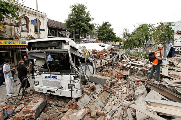 christchurch earthquake in new zealand. Earthquake in New Zealand