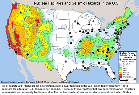 Seismic Zone Map Of The United States