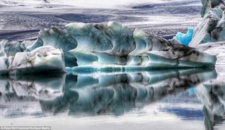 Jokulsalron Glacial Lagoon