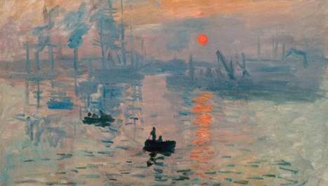 Claude Monet, Impression, soleil levant Paris