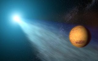 Comet_Passing_Mars_