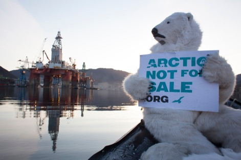 Polar Bears say no to Statoil in Arctic